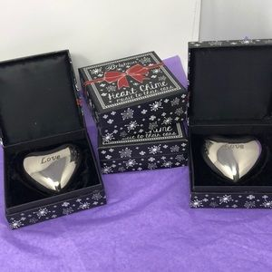 4 brighton heart chime paperweight.